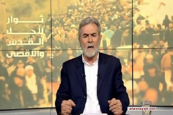 النخالة: مستقبل المنطقة مرتبط بسلاح المقاومة واستعدادها للقتال والاستشهاد