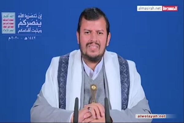 السيد عبد الملك الحوثي: عجلة الحياة مستمرة في شعبنا الصامد لأنه يستمد ثباته من اعتماده على الله