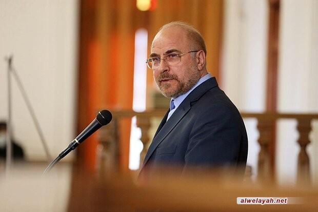 قاليباف: الثورة الإسلامية الإيرانية تتقدم بقوة رغم كل الصعوبات
