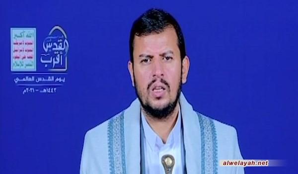 السيد الحوثي: شعبنا لن يكون محايدا في معركة الأمة ومناصرة فلسطين