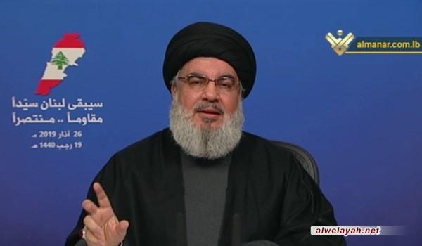 السيد نصر الله: ترامب تجرأ على قراره حول الجولان بعد صمت العالم العربي