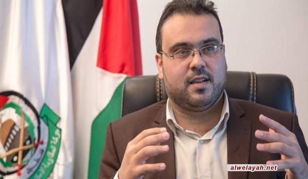 المتحدث باسم حماس: إعلان الإمام الخميني (ره) يوم القدس فكرة ذكية