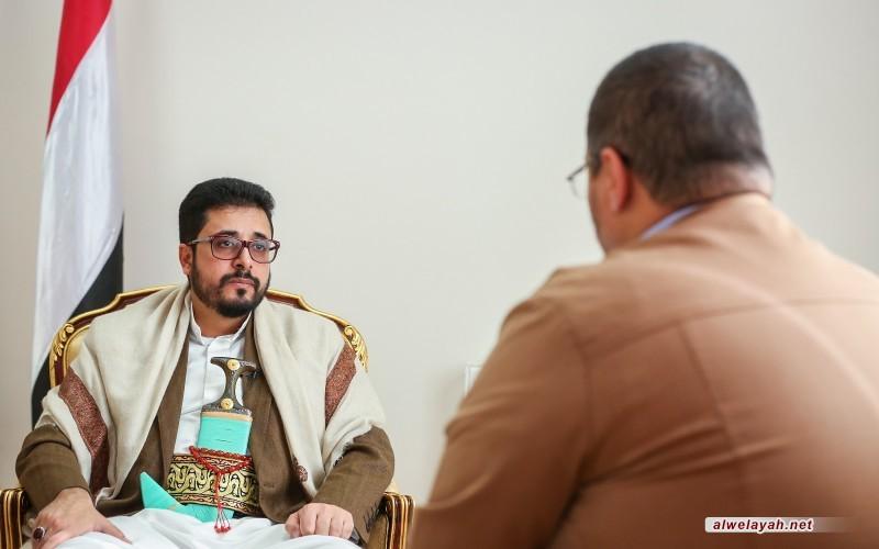 سفير اليمن في إيران: يجب تكثيف التواصل داخل محور المقاومة تمهيداً لإخراج الأمريكيّين من المنطقة
