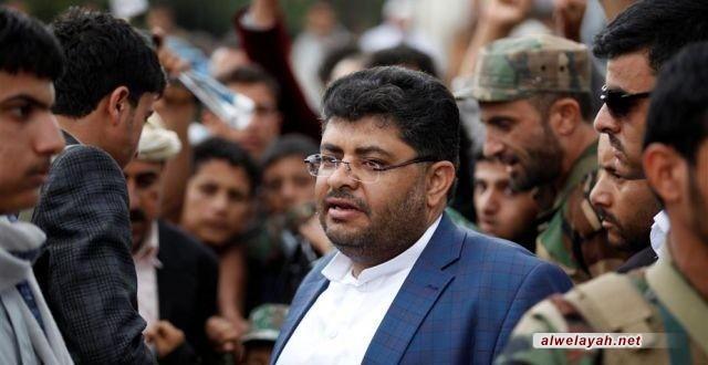 رئيس اللجنة الثورية العليا في اليمن: لم نر عاصفة حزم من أجل القدس ومن أجل فك الحصار عن الفلسطينيين!!