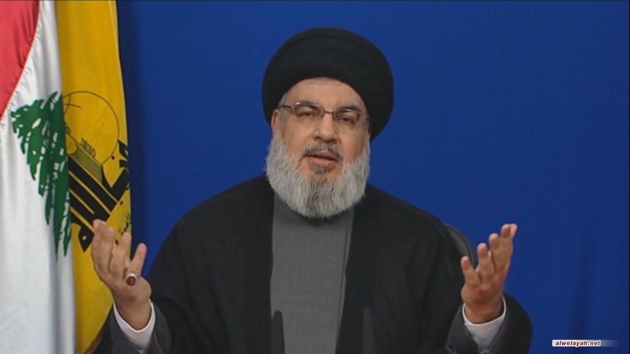 السيد نصر الله: اتخذنا قرارا بخوض معركة التقدم زراعيا وصناعيا والعقوبات تقوينا وستضعف حلفاء أميركا