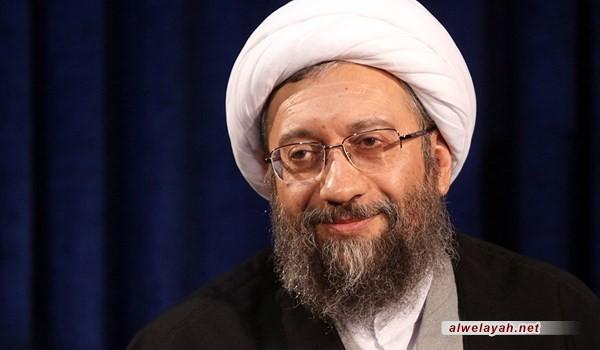 رئيس السلطة القضائية: الثورة الإسلامية أحدثت تطورا عظيما في الجانبين العلمي والنظري