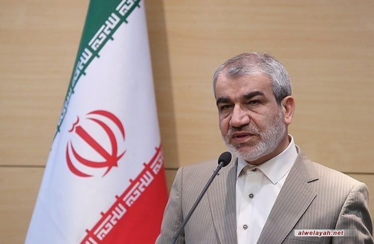 """كدخدائي: يوم """"الجمهورية الإسلامية"""" من أعظم الأعياد الوطنية في إيران"""