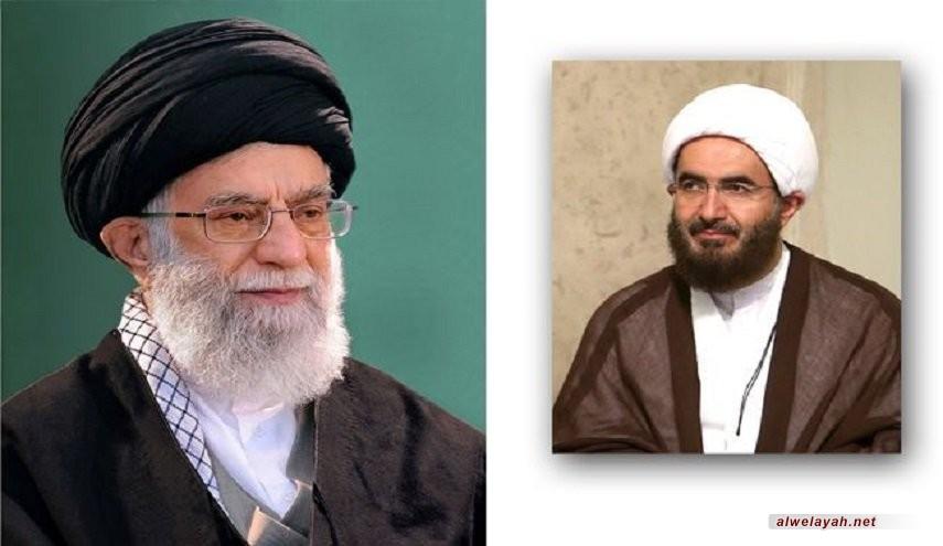 قائد الثورة الإسلامية يعين حجة الإسلام حاج علي أكبري رئيسا لمجلس التخطيط لخطباء الجمعة