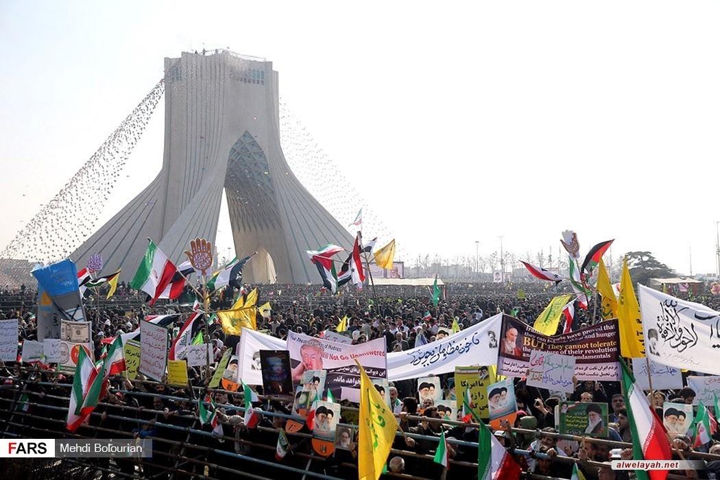 الشعب الإيراني يحيي الذكرى39 لانتصار الثورة الإسلامية