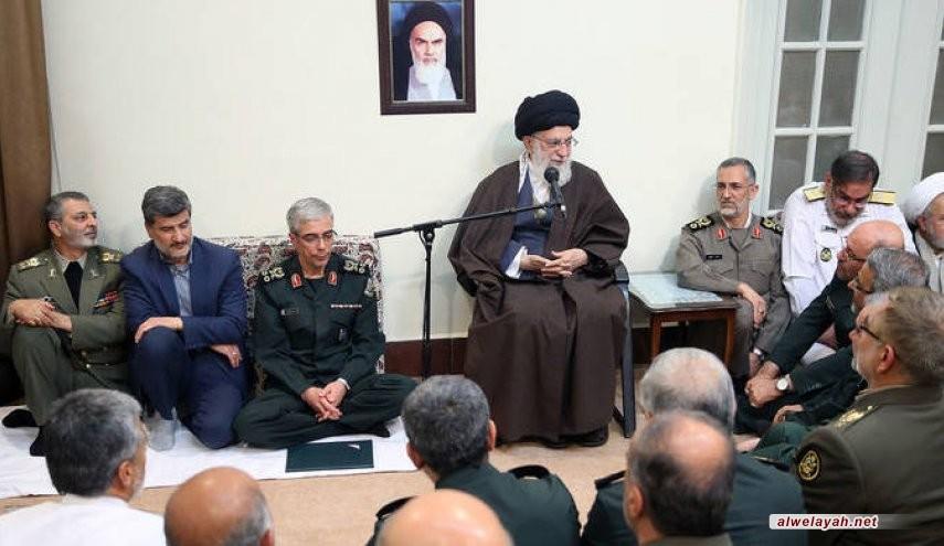 الإمام الخامنئي: رغم أنف الأعداء؛ ستزداد قوة النظام الإسلامي