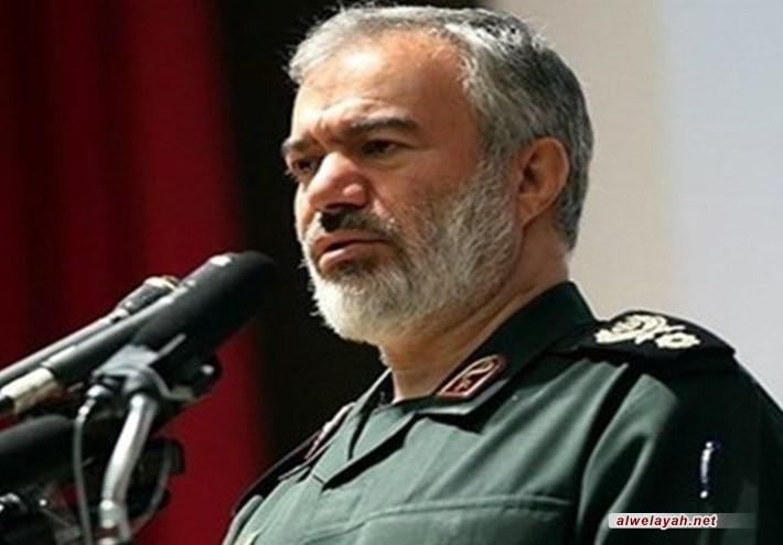 الأدميرال فدوي: اقتدارنا في الخليج الفارسي أذل أميركا