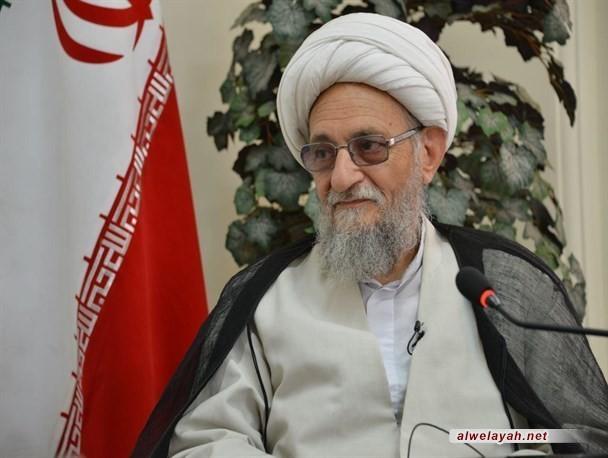 آية الله عالمي: أعداء الجمهورية الإسلامية مازالوا يتآمرون عليها