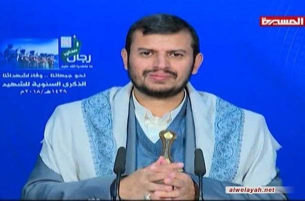 قائد أنصار الله: اغتيال الرئيس الصماد جريمة في القانون الدولي