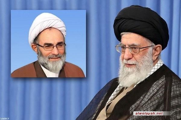 """قائد الثورة الإسلامية يعين """"حجة الإسلام فلاحتي"""" ممثلاً له في """"كيلان"""""""