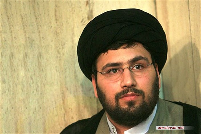 حفيد الإمام الخميني (ره): دعم النظام الإسلامي وقائد الثورة بصلاح الشعب