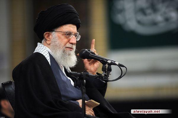 الإمام الخامنئي: على المسلمين أن يقفوا بوجه أميركا