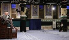 إقامة مراسم عزاء الإمام السجّاد (ع) بحضور قائد الثورة الإسلامية