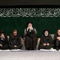 إقامة مراسم الليلة الأخيرة للعزاء الحسيني بحضور قائد الثورة
