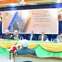 إقامة ندوة فكرية لمناقشة كتاب سماحة الإمام الخامنئي حفظه الله (في مدرسة الرسول الاعظم) بدمشق